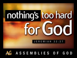 Nothing's Too Hard for God